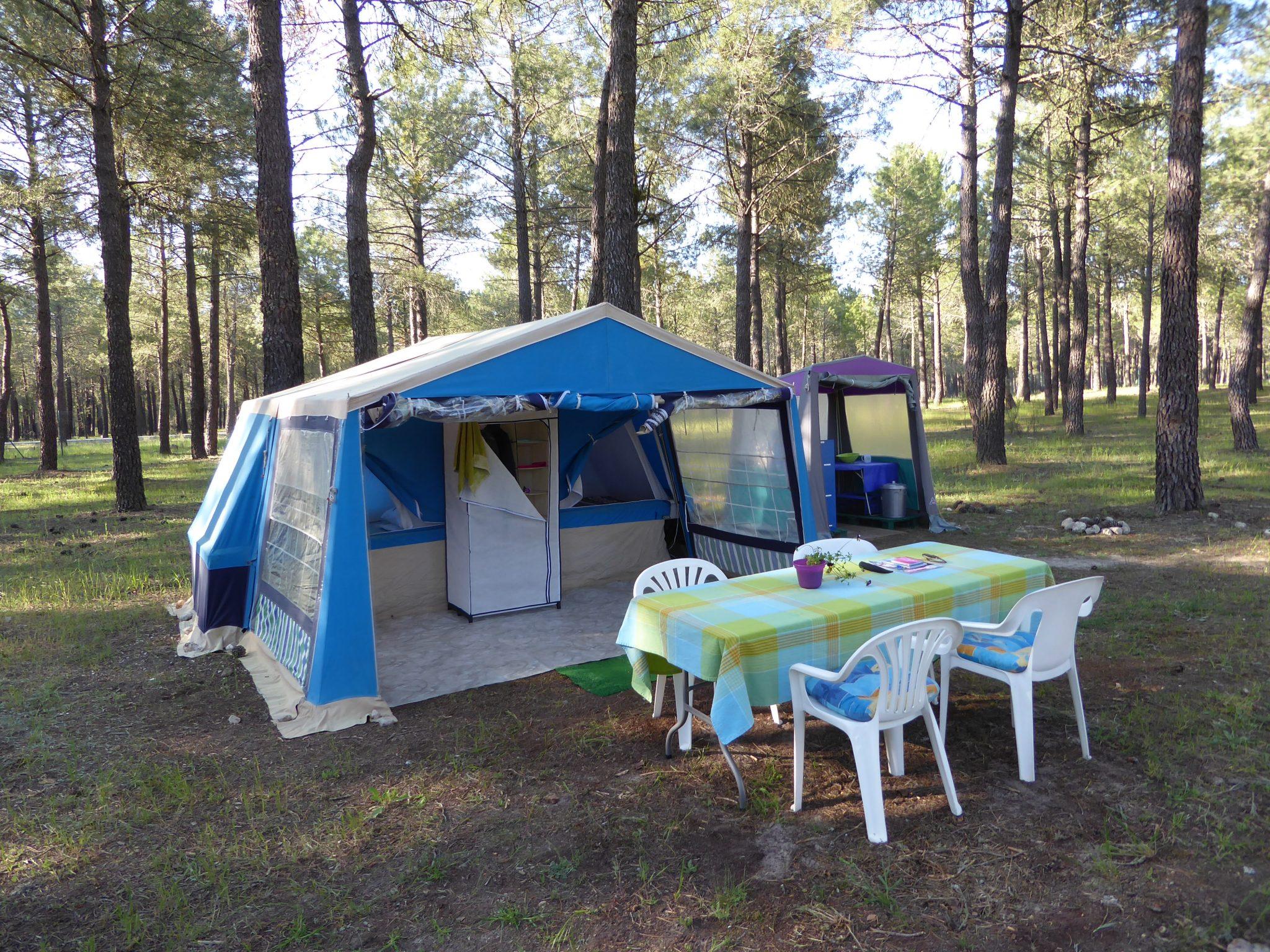 alquiler de tienda camping el calonge